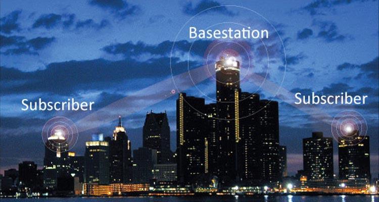 Wireless city concept