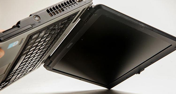 Wet Laptop Computer