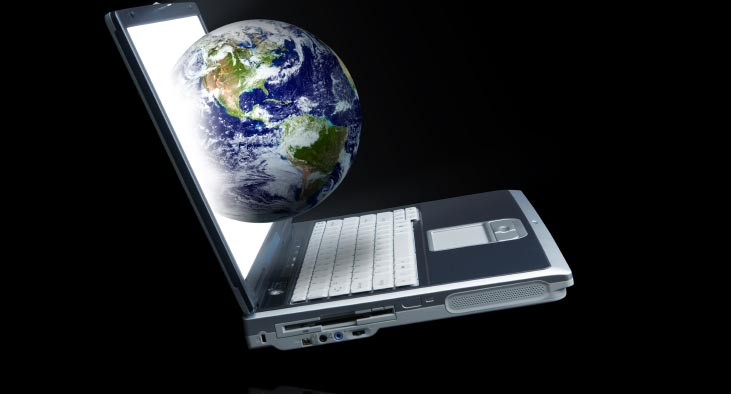 Computer with World