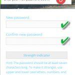 Step 5 Password Reset