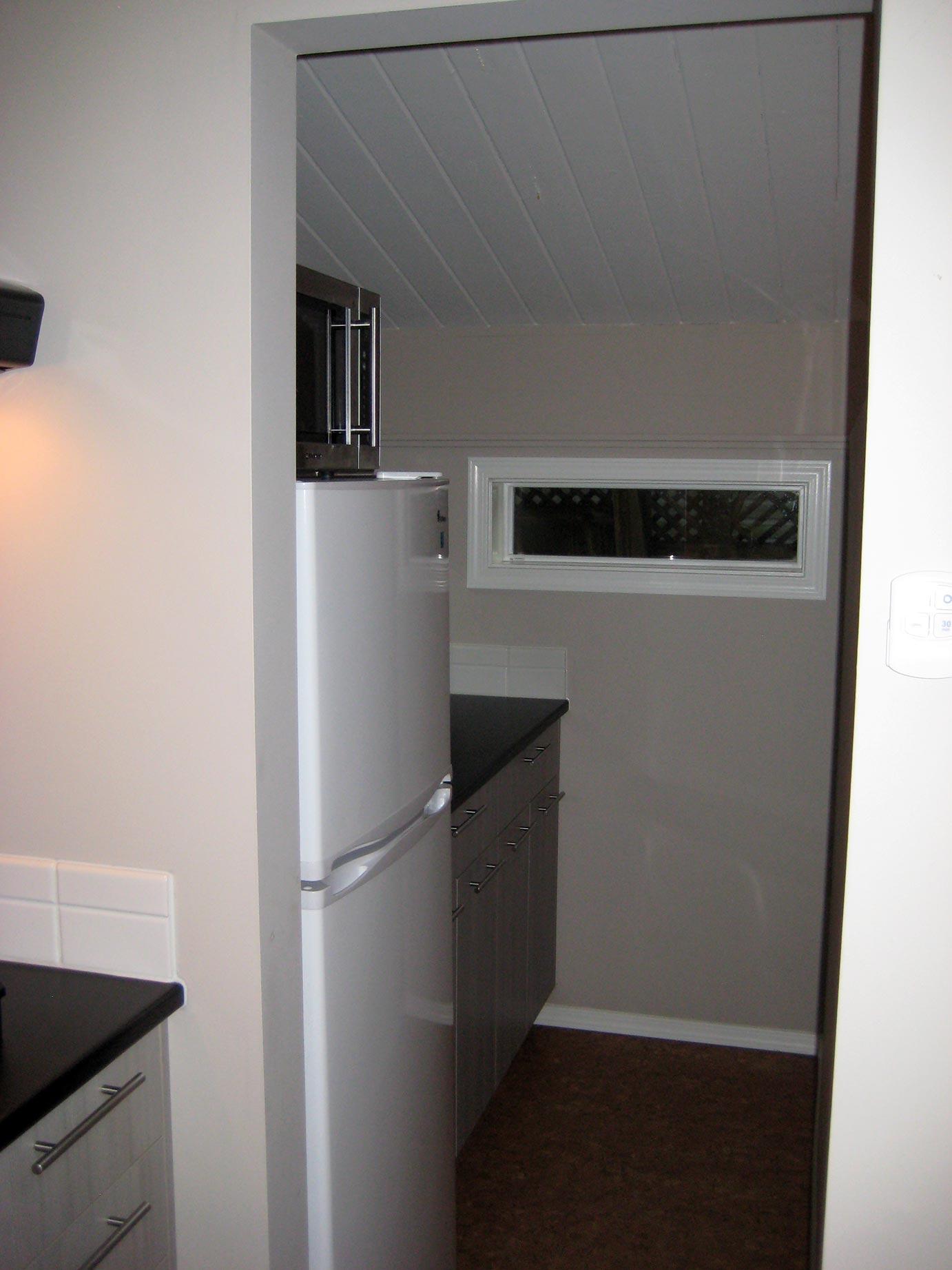 Kitchen View & Fridge